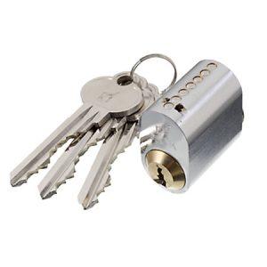 Oval låsecylinder