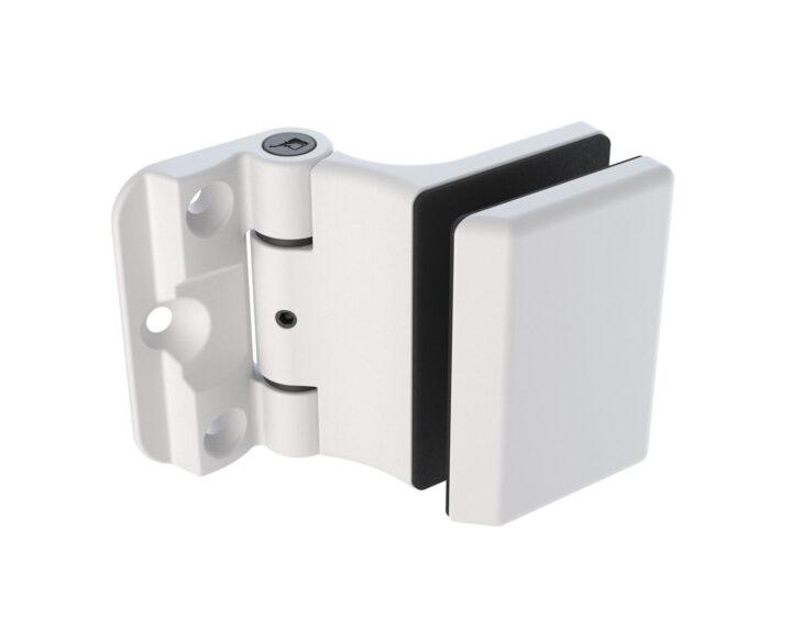 RG-490 Shower hinge white