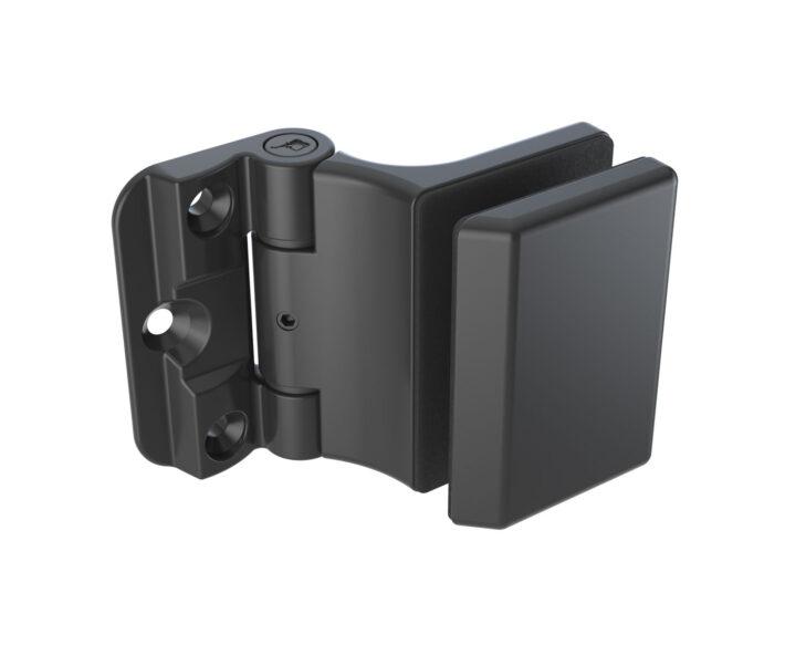 RG-490 Shower hinge black